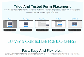 Quiz and Survey Builder for WordPress