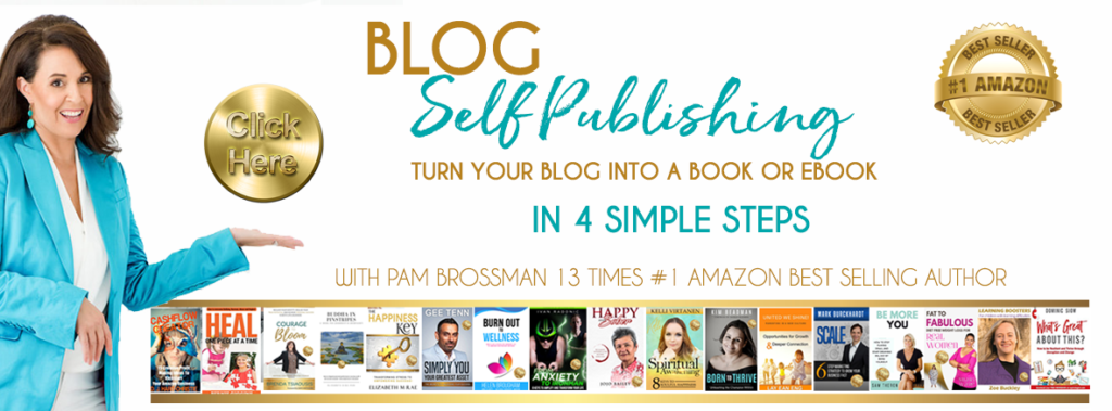 Blog Self Publishing