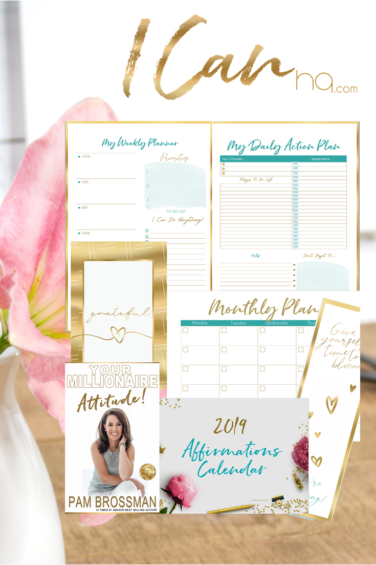 I Can Digital Goal Setting Daily Planner
