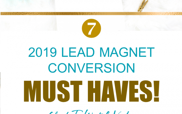 Lead Magnet Conversions 2019