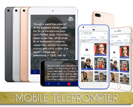 Mobile Teleprompter