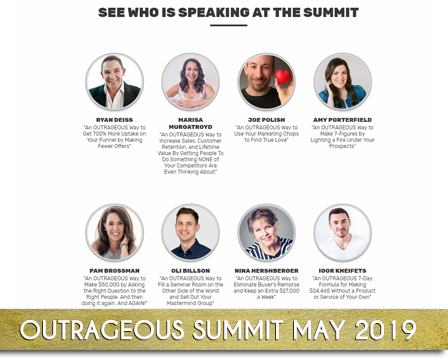 Outrageous Info Summit 2019