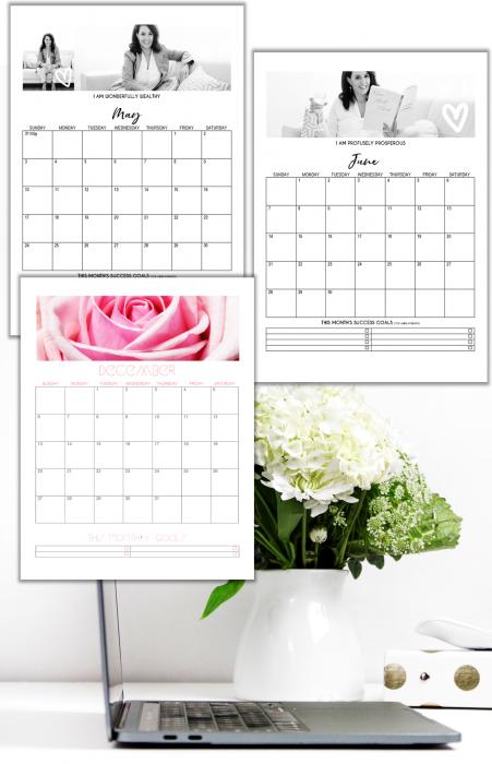 2020 Printable Calendar Template