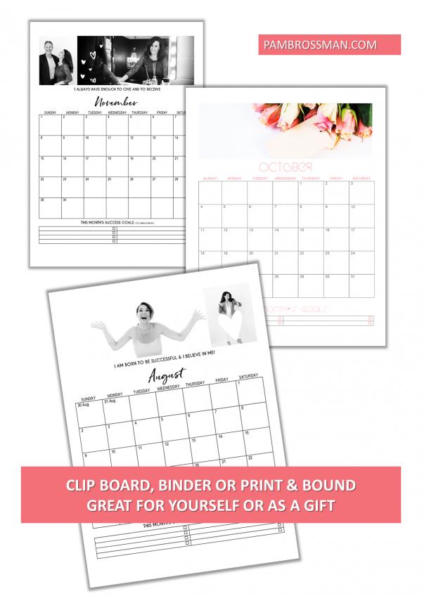 2020 Printable Calendar Editable