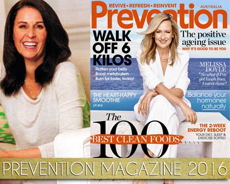 Prevention Magazine Pam Brossman