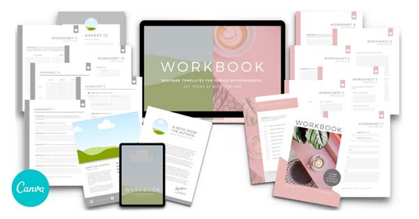 Canva Workbook Template