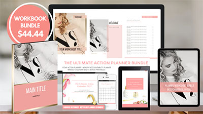 Pam Brossman Canva Templates Bundle