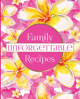 Blank Recipe Book For Your Family