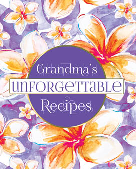 Blank Recipe Book For Your Grandmother