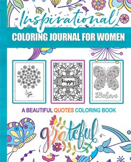Inspirational Coloring book For Women