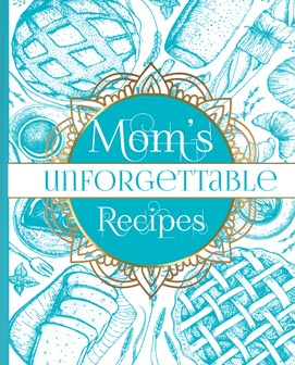 Blank Recipe Book For Moms