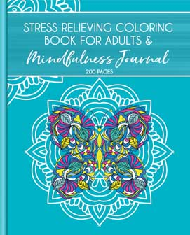 Stress Relieving Coloring Book