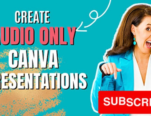 Canva Audio Only Tool