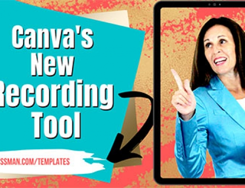 Canva New Record tool
