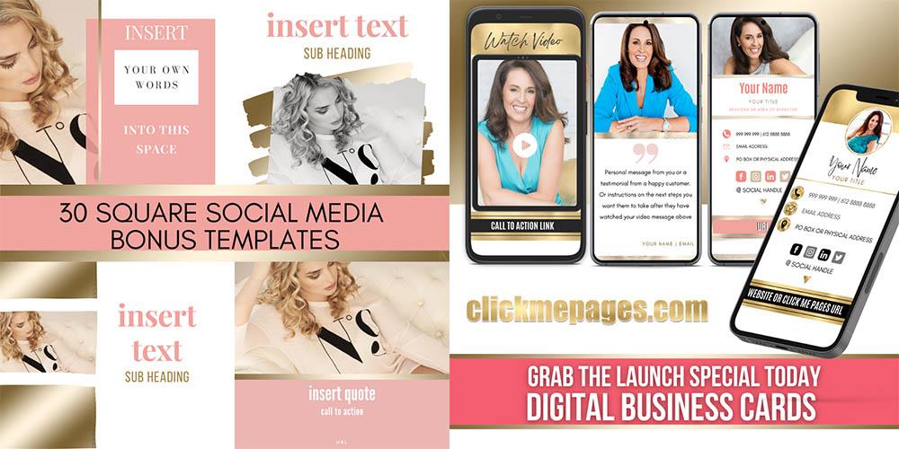 Digital Business Card Bundle